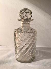 オールドバカラバンブーツイスト香水瓶 - スペイン・バルセロナ・アンティーク gyu's shop