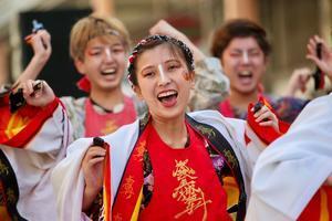2020YOSAKOIぶち楽市民祭その23(肥後真狗舞) - ヒロパンのよさこいライク・N-VANライフ