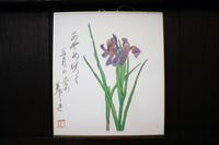 色鉛筆画~ あやめ ~ - 鎌倉のデイサービス「やと」のブログ