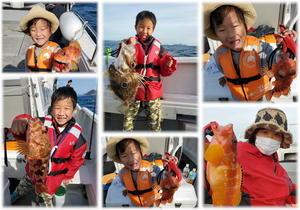 ファミリーフィッシング初めてのタイラバゲーム - 五島列島 遊漁船 MANA 釣果情報 ヒラマサ キャスティング ジギング