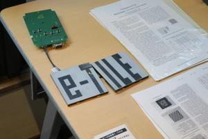 電子タイル 建材としての電子ペーパー - 万事が面倒