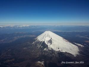 ◆ 「ふじは日本一の山~♪」(2021年5月) - 空とグルメと温泉と