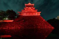 赤い小倉城〜世界赤十字デー〜 - ライカとボクと、時々、ニコン。