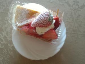 苺のケーキ -