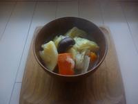 野菜ごろごろポトフ風スープ - LEAFLabo
