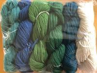 買った糸をひたすら愛でる。糸好きあるある? - 手染めと糸のワークショップ