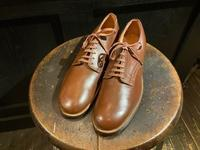 N.O.S. 40's U.S.Military service shoes - BUTTON UP clothing