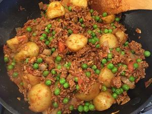 キーマ・アル―(挽肉とポテトのインド料理)を作ってみた! - ロンパラ!(LONDON パラダイス)