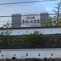 福山城と水野勝成 - ズームでバッチリ