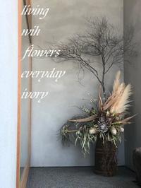 『カフェかくれみの』OPEN‼︎ -  Flower and cafe 花空間 ivory (アイボリー)