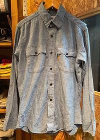 5月13日(木)入荷!70s MADE IN U.S.A Levi's all cotton シャンブレーシャツ! - ショウザンビル mecca BLOG!!