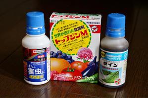 薬剤散布2021*3回目 - my small garden~sugar plum~