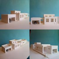 「十勝の家」模型&スケッチ - OCM一級建築士事務所
