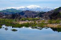 水鏡(白川湖ダム) - くろちゃんの写真