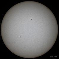 5月13日の太陽 - お手軽天体写真