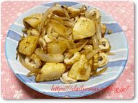 ジャガイモと竹輪の炒め物:気持ちはリヨネーズ - てきとう料理ときまぐれパン