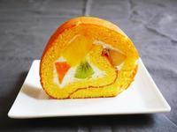 フルーツロールケーキ♪ - This is delicious !!