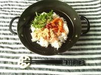 手抜き料理、ツナのビビンバ風混ぜご飯 - Minha Praia