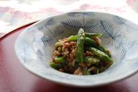 大山のぶ代さん直伝「どじょうの綱引き」 - 料理研究家ブログ行長万里  日本全国 美味しい話