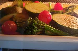 5/14 野菜はグリルで - 「あなたに似た花。」