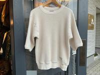 Dapper's half sleeve popcorn tee - BUTTON UP clothing