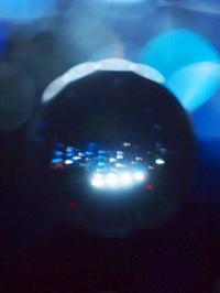 宇宙船から見た夜景? - さぬき風花