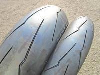 K西さん号 YZF-R1のタイヤ交換やらブレーキパッド交換やらチェーン交換・・・(^^♪ - バイクパーツ買取・販売&バイクバッテリーのフロントロウ!
