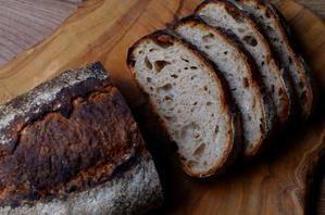 「パーラー江古田」原田シェフレシピのカンパーニュ - 森の中でパンを楽しむ