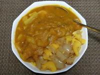 かぼちゃと玉ねぎとパプリカのカレー - 食写記 ~Shokushaki's Blog~