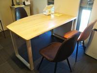 受付用テーブル - woodworks 季の木  日々を愉しむ無垢の家具と小物
