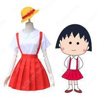 まる子 コスプレ衣装『ちびまる子ちゃん』さくらももこ 女の子 アニメ コスチューム 母と娘 親子服 - コスプレ衣装