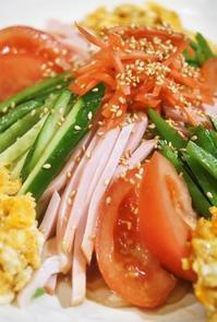 ■晩・麺類【冷やし中華始めました^^】 - 「料理と趣味の部屋」