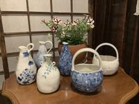 小さな植木鉢と花器展・2021〜4 - アオモジノキモチ