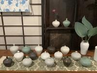 小さな植木鉢と花器展・2021〜5 - アオモジノキモチ