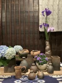 小さな植木鉢と花器展・2021〜9 - アオモジノキモチ