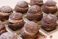 クッキーシュークリーム - パン・お菓子教室 「こ む ぎ」