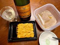 仕事終わって帰宅→スパークリング♪ - よく飲むオバチャン☆本日のメニュー