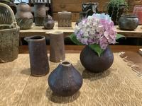 小さな植木鉢と花器展・2021〜10 - アオモジノキモチ