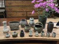 小さな植木鉢と花器展・2021〜11 - アオモジノキモチ