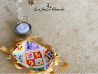 『小さなリボントレイ』🎀 - 埼玉カルトナージュ教室 ~ La fraise blanche ~ ラ・フレーズ・ブロンシュ