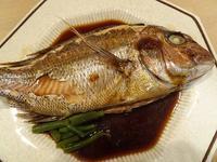 鯛の煮つけ - blueletter