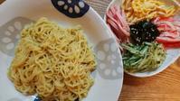 ひやちゅうとバター醤油香るタコ炒飯とむぎちゃん - オヤコベントウ