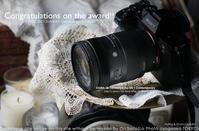 デジタルカメラグランプリ2021 総合金賞とな! #DGP #SIGMA #カメラ 28-70mm F2.8 DG DN Contemporary - さいとうおりのお気に入りはカメラで。