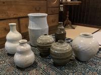 小さな植木鉢と花器展・2021〜12 - アオモジノキモチ