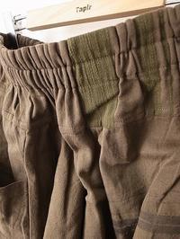 tamaki niime 玉木新雌 only one tarun pants - 【Tapir Diary】神戸のセレクトショップ『タピア』のブログです