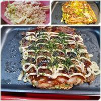 イビツな形のお好み焼き - 気ままな食いしん坊日記2