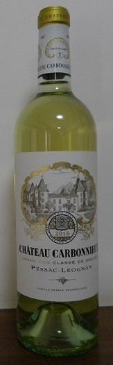 シャトー・カルボヌー・ブラン2016(Chateau Carbonnieux Blanc) -