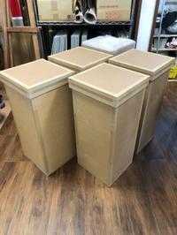 段ボール人間の箱を制作中です。 - 大﨑造形絵画教室のブログ