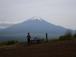 自転車(MTB)で山伏峠から石割山 -