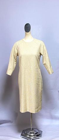 ベージュのワンピース - 私のドレスメイキング